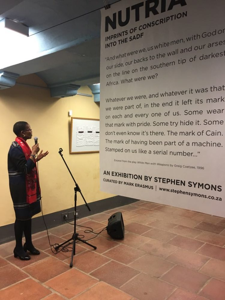 Prof. Pumla Gobodo-Madikizela delivering her opening speech.